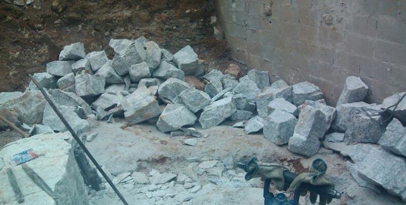 Desmonte de concreto