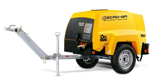 Compressor de Ar á Diesel 70PCM